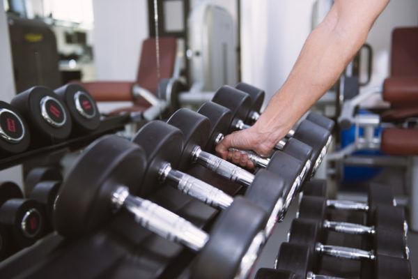 Trainingsgewicht beim Muskelaufbau