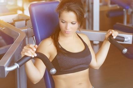 Wiederholungen für den Muskelaufbau